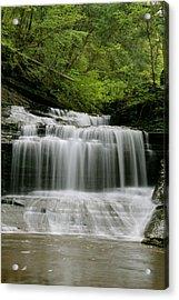Buttermilk Falls Acrylic Print by Judd Connor