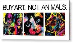 Buy Art 2  Acrylic Print by Mark Ashkenazi