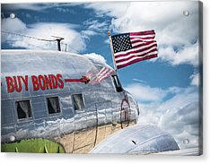 Acrylic Print featuring the photograph Buy Bonds by Steven Bateson