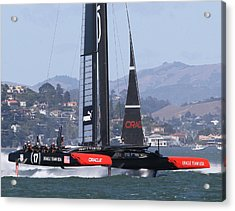 Oracle America's Cup 34 Acrylic Print by Steven Lapkin