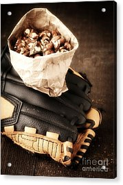 Buy Me Some Peanuts And Cracker Jack Acrylic Print by Edward Fielding