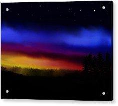 By Dawns Early Light Acrylic Print by Steve Hermann