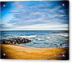 By The Beautiful Sea Acrylic Print by Colleen Kammerer