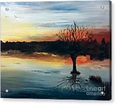 By The Lake Acrylic Print