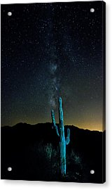 By The Light Of The Milky Way Acrylic Print