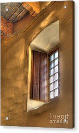 By The Light Of The Window Acrylic Print