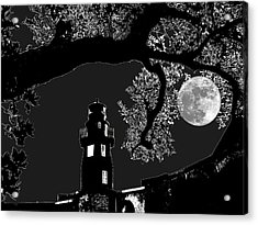 Acrylic Print featuring the photograph By The Light by Robert McCubbin