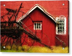 By The Mill House Acrylic Print by Jack Zulli