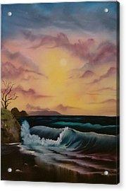 By-the-sea Acrylic Print by Lynn Lawrence