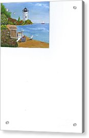 By The Shore Acrylic Print by Catherine Swerediuk