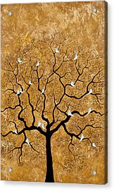 By The Tree Acrylic Print