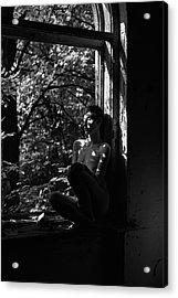 By The Window Acrylic Print