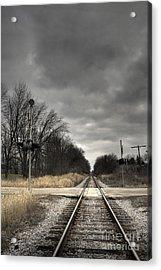By Train Acrylic Print