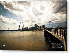 Bye Bye Saint Louis Acrylic Print