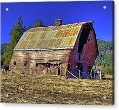 Bygone Barn Acrylic Print
