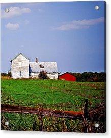 Bygone Farmstead Acrylic Print