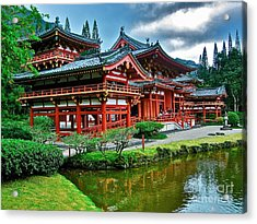 Byodo-in Temple #0026 Acrylic Print