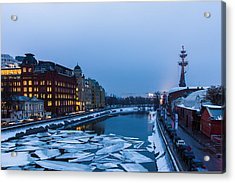 Bypass Canal Of Moscow River - Featured 3 Acrylic Print