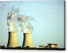 Byron Nuclear Plant Acrylic Print