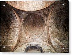 Byzantine Medieval Dome Ceiling Acrylic Print by Artur Bogacki