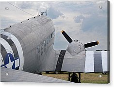 Acrylic Print featuring the photograph C-47 3880 by Guy Whiteley