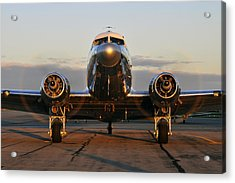 Acrylic Print featuring the photograph C-47 Skytrain by Dan Myers