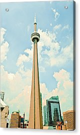 C N Tower Acrylic Print by BandC  Photography