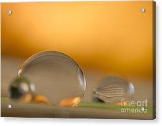 C Ribet Orbscape Sunrise Duet Acrylic Print by C Ribet
