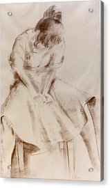 C12. Dancer Resting Acrylic Print