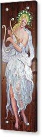 C14. Harpist Acrylic Print
