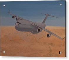 C17 Out Of Baghdad Acrylic Print by Jonathan Laverick