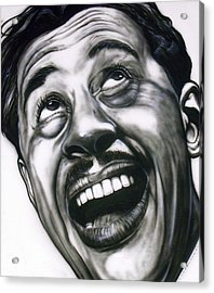 Cab Calloway Acrylic Print by Mike Underwood