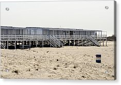 Cabanas Breezy Point Surf Club Acrylic Print