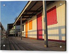 Cabana's West Meadow Beach New York Acrylic Print