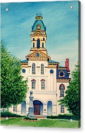 Cabarrus County Courthouse Acrylic Print