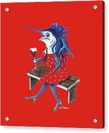 Cabernet Trixie Acrylic Print