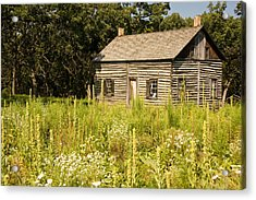 Cabin In The Prairie Acrylic Print