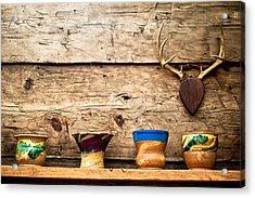 Cabin Pottery Acrylic Print