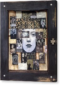 Cabinet Of Dreams Acrylic Print by Susan McCarrell