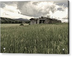 Cabins In Sync Acrylic Print by Stellina Giannitsi