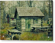 Cabins In The Woods Acrylic Print