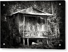 Cabins Of Southern Louisiana Acrylic Print