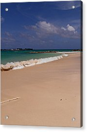 Cable Beach Bahamas Acrylic Print by Kimberly Perry