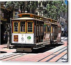 Cable Car - San Francisco Acrylic Print