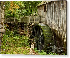 Cable Mill Cades Cove Acrylic Print