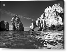 Cabo In Black And White Acrylic Print