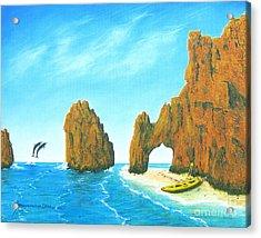 Cabo San Lucas Mexico Acrylic Print by Jerome Stumphauzer