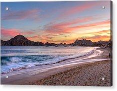 Cabo Sunset Acrylic Print by Mark Goodman