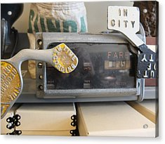 Acrylic Print featuring the photograph Cabometer by Scott Kingery
