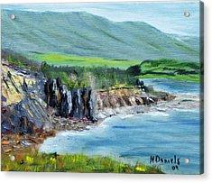 Cabot Trail Coastline Acrylic Print